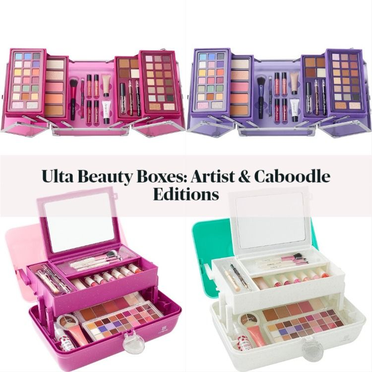 Ulta Holiday 2020 Beauty Boxes! The Artist & Caboodles Editions