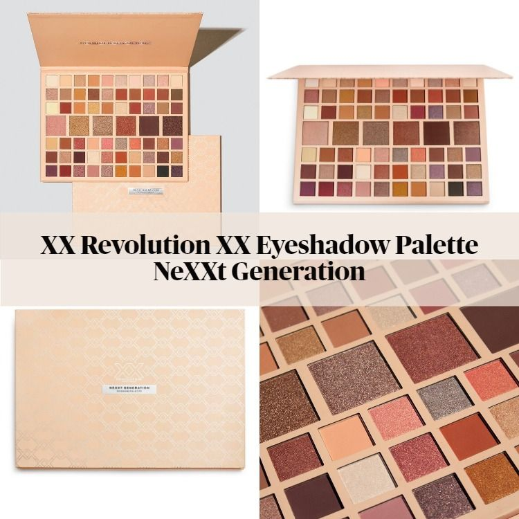 XX Revolution XX Eyeshadow Palette NeXXt Generation
