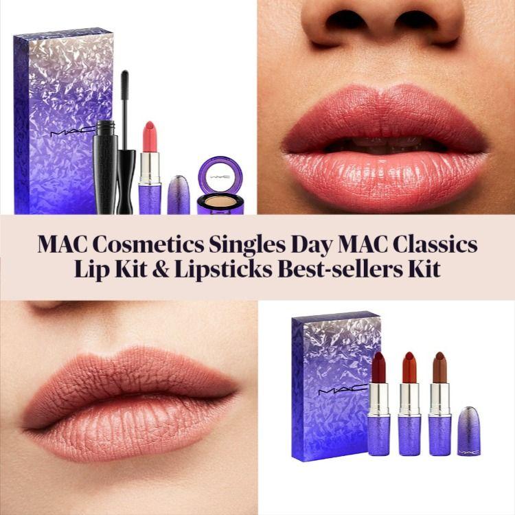 MAC Cosmetics Singles Day MAC Classics Lip & Lipsticks Best-sellers Kits