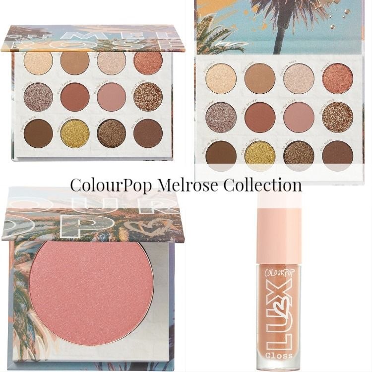 ColourPop Melrose Collection