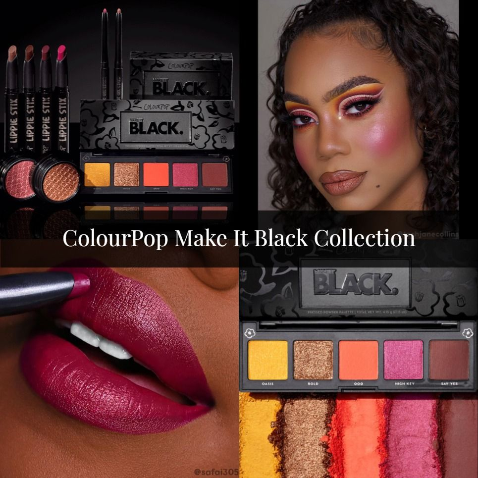ColourPop Make It Black Collection