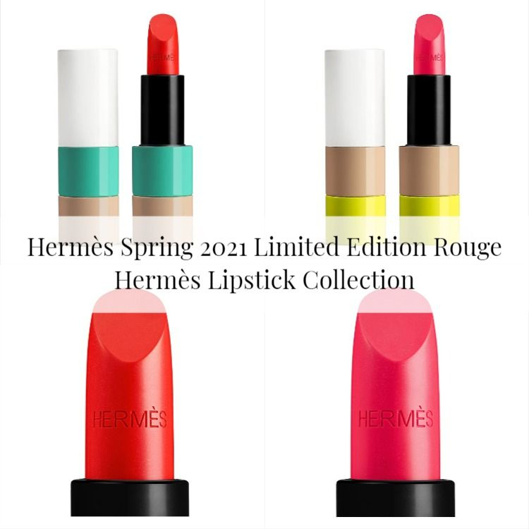 Hermès Spring 2021 Limited Edition Rouge Hermès Lipstick Collection