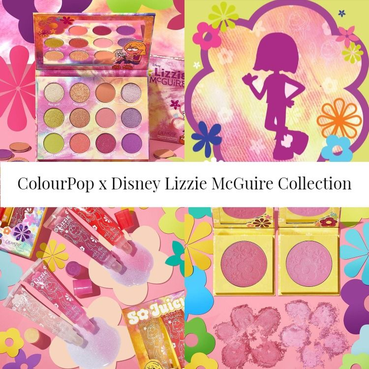 Sneak Peek! ColourPop x Disney Lizzie McGuire Collection