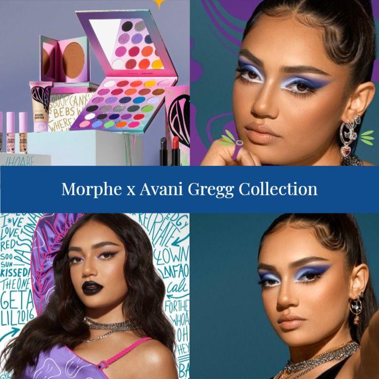 Morphe x Avani Gregg Collection