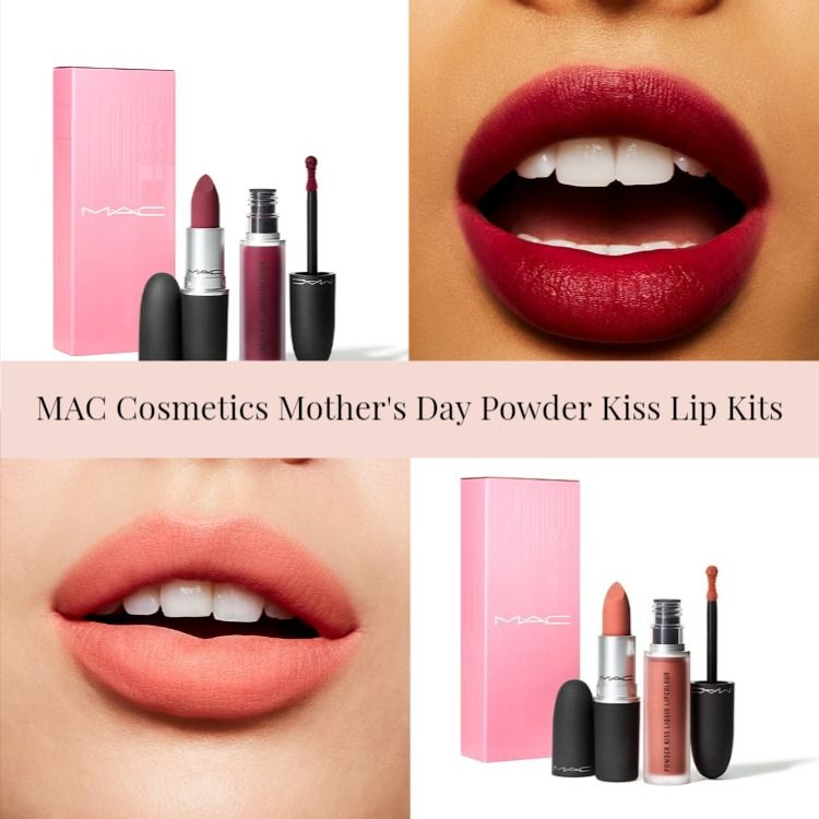MAC Cosmetics Limited Edition Mother's Day Powder Kiss Lip Kits