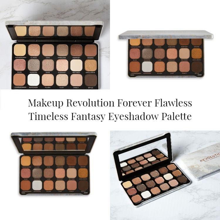Makeup Revolution Forever Flawless Timeless Fantasy Eyeshadow Palette