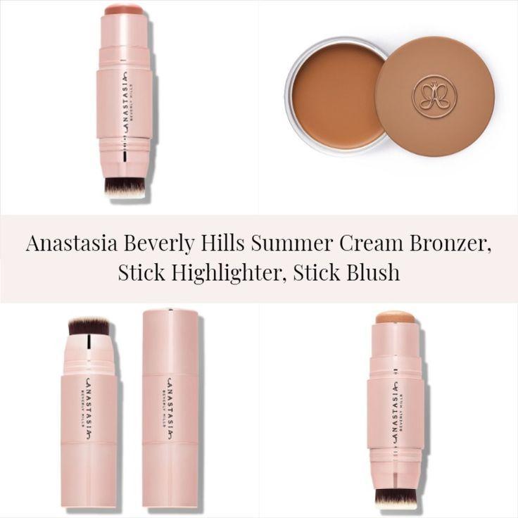 Sneak Peek! Anastasia Beverly Hills Summer Cream Bronzer, Stick Highlighter, Stick Blush