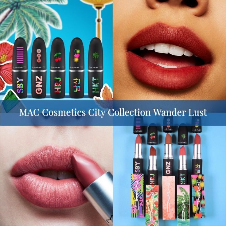 Sneak Peek! MAC Cosmetics City Collection Wander Lust