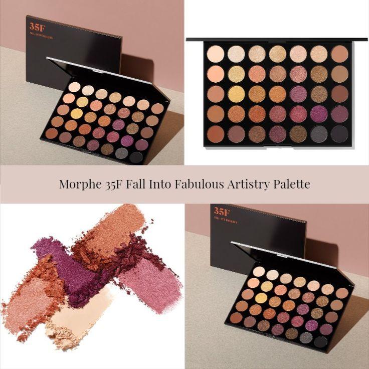 Morphe 35F Fall Into Fabulous Artistry Palette