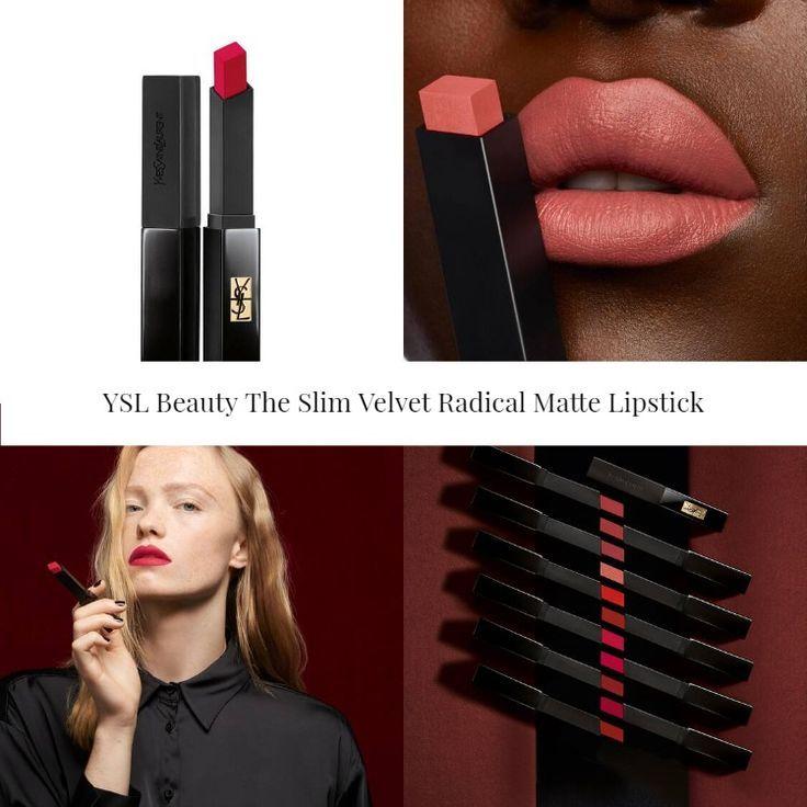YSL Beauty The Slim Velvet Radical Matte Lipstick - BeautyVelle | Makeup  News
