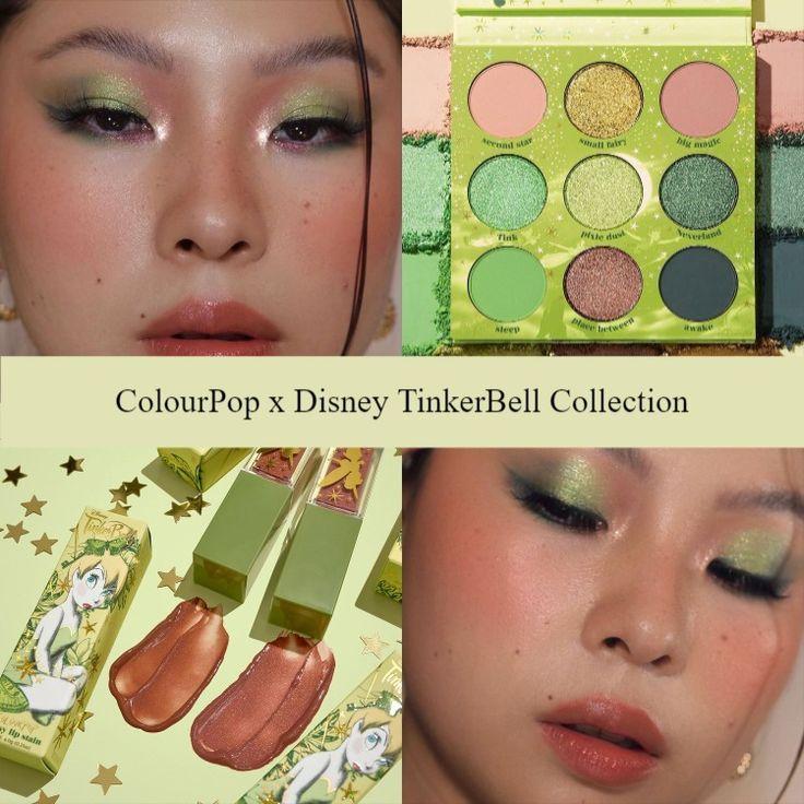 Sneak Peek! Preview ColourPop x Disney TinkerBell Collection