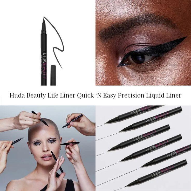 Huda Beauty Life Liner Quick 'N Easy Precision Liquid Liner