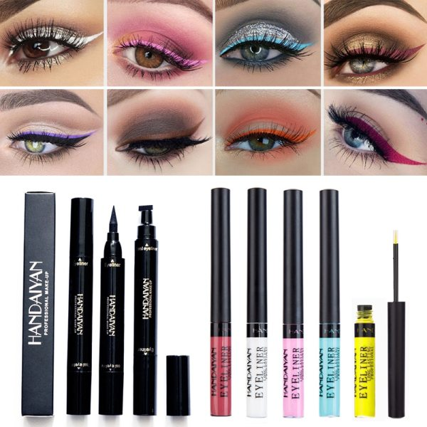 Waterproof Glitter Eyeshadow Eyeliner Pencil