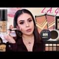 FULL FACE OF L.A. GIRL COSMETICS: AFFORDABLE MAKEUP TUTORIAL! | JuicyJas