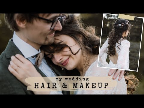 My Marriage ceremony Hair & Make-up 👰🏻 Get Prepared With Me