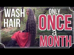 I wash my hair handiest As soon as a Month ✧ Knee Long Hair Care Routine