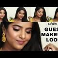தமிழில்-Straightforward Glam Marriage ceremony Guest Make-up Observe-Tutorial🤩