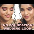 *No Basis* Wedding Make-up Tutorial On Indian Unlit Pores and skin In Tamil