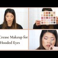 HOODED EYES  CUT CREASE MAKEUP: Pointers & Tricks for Hooded Eyes