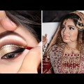 How To: PERFECT Gold Cutcrease INDIAN BRIDAL Survey Makeup Study | sever again crease for hooded eyes novices