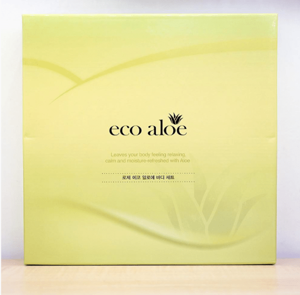 ROSEE Ecopure Aloe Body Care Front of Box