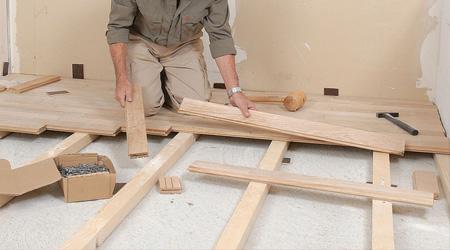Fiche Bricolage n°1 : plancher cloué