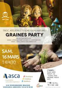 Graine party @ ASCA | Beauvais | Hauts-de-France | France