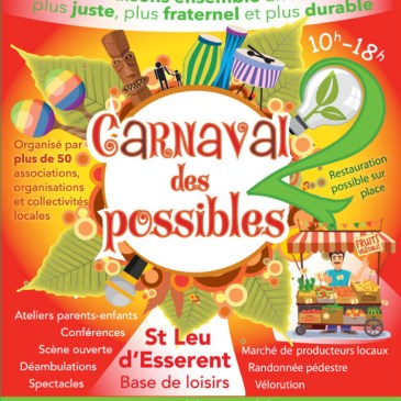 Le Carnaval des Possibles dimanche 29 septembre à Saint-Leu-d'Esserent