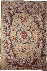 Baroque Tapestry-weave Carpet (French-Lille or Beauvais ...