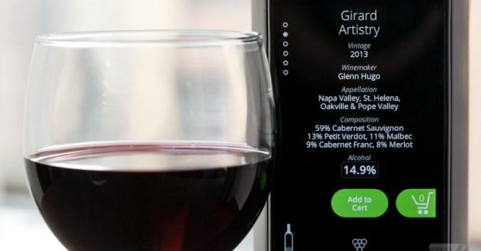 blog vin beaux-vins Kuvée bouteille innovation écran