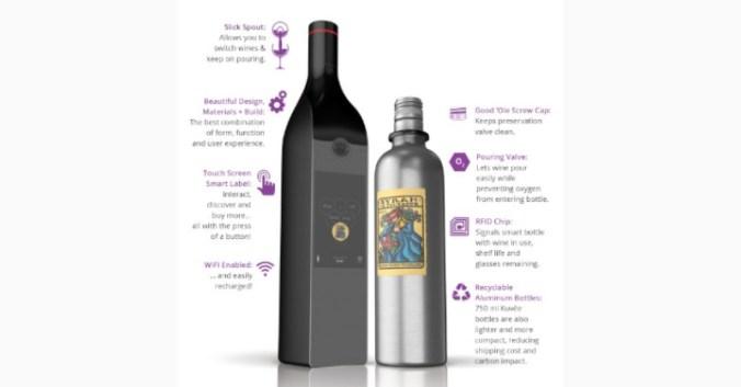 blog vin beaux-vins Kuvée bouteille innovation