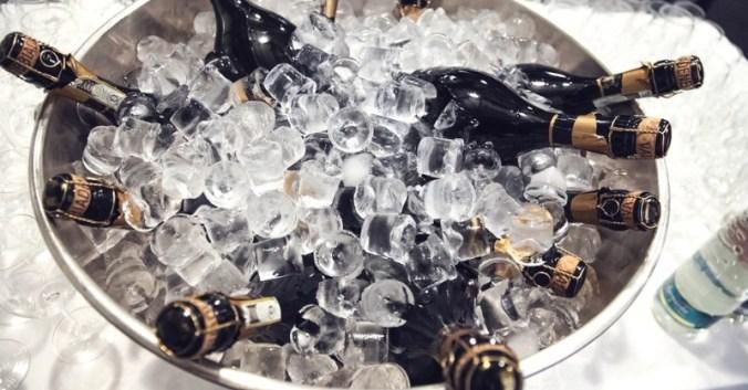 Blog vin Beaux-Vins rafraichir bouteille glace