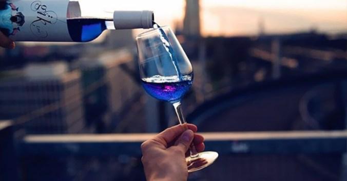 blog vin Beaux-Vins oenologie dégustation vin bleu Gik