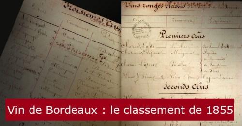 blog vin Beaux-Vins oenologie dégustation vins vignoble Bordeaux 1855 classement
