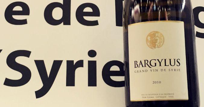 blog beaux-vins vin syrie bargylus