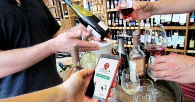 Vinexplore application mobile evenement vin