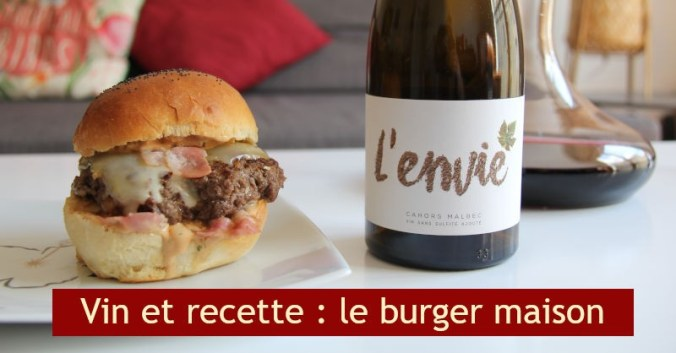 Accord vin rouge recette burger maison blog beaux-vins