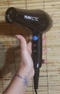 Rusk CTC Lite Hair Dryer 4