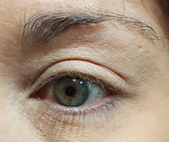 """67bfff8d3c9 Before using mascara- please excuse the powder- I forgot to take a """"before""""  pic prior to starting to put on makeup…lol! Buxom Big Tease ..."""