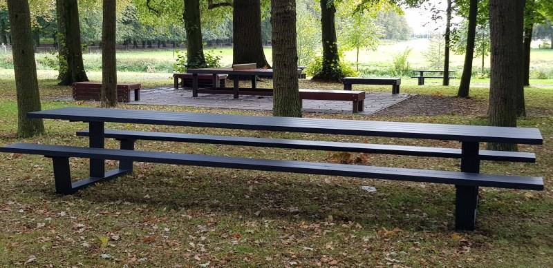 5 mtr aluminium picknicktafel