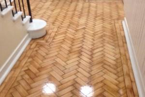 wood floor anti slip