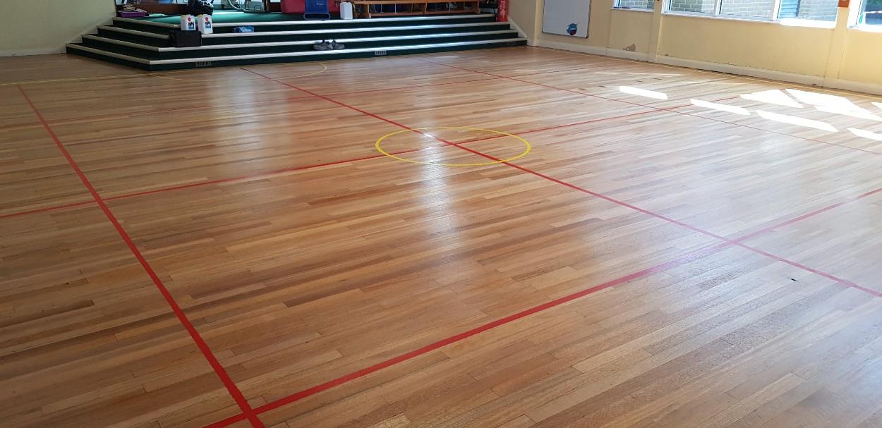 School Floor Sanding