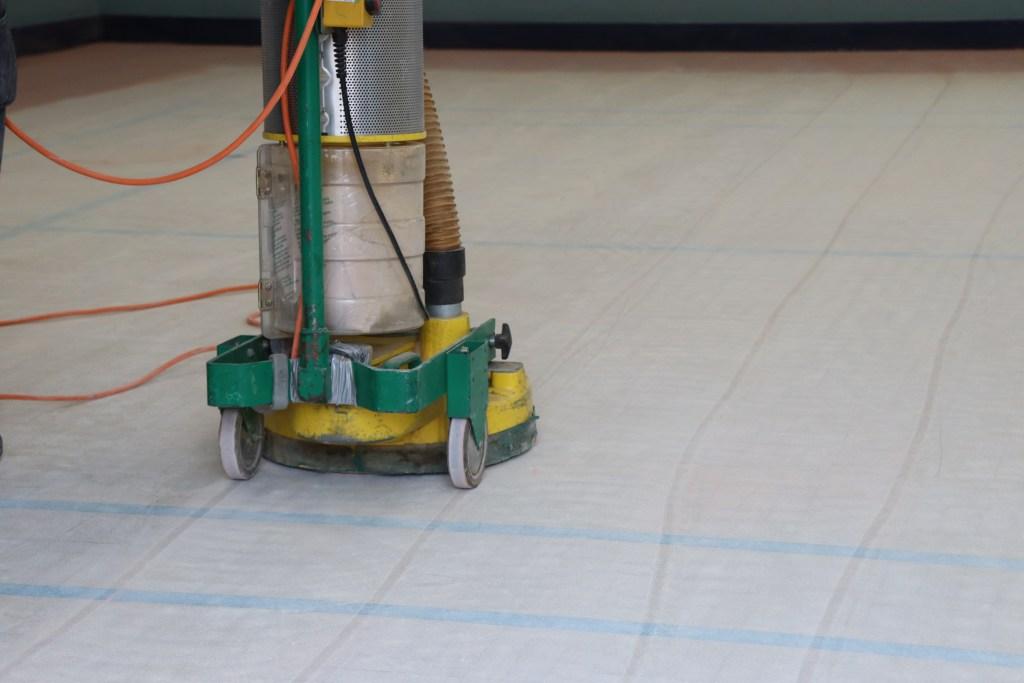 Granwood Floor Restoration, Bona Lägler Trio