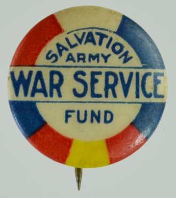 War Service Fund Pin