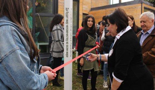 Peace Pole dedication