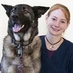 Brandy Jones Certified Veterinary Technician with dog