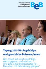 Cover AH-Tagung 2015