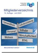 Cover des Mitgliederverzeichnis 2020