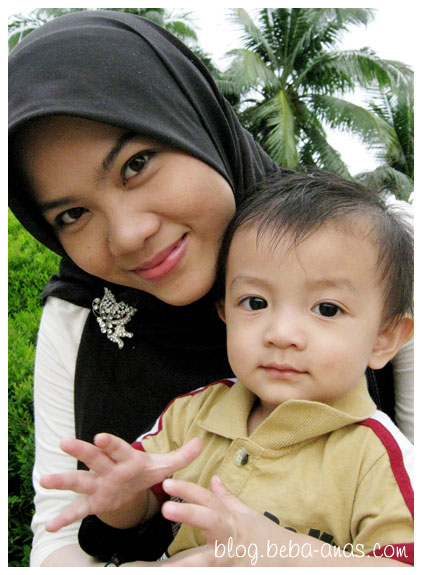 Alif and mak together..