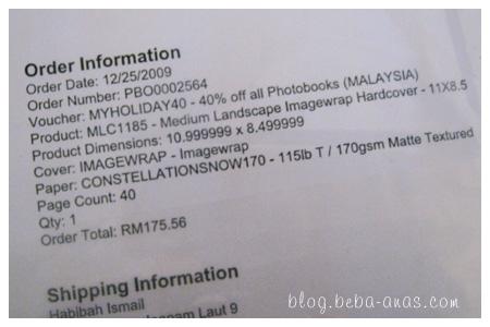 Order Confirmation... :D